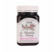 Manuka紐西蘭有機 5+活性麥蘆卡蜜糖500g