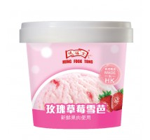 【自家速遞】散點加購:鴻福堂玫瑰草莓雪芭100ML