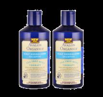 Avalon Organics頭皮淨化護理-茶樹薄荷有機洗髮露  (孖裝) 14 fl oz