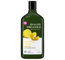 Avalon Organics檸檬清新洗髮露 11 fl oz