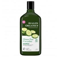 Avalon Organics 不含麩質黃瓜有機洗髮露 (回復柔軟及光澤)11 fl oz