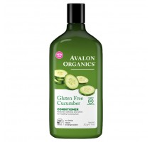 Avalon Organics 不含麩質黃瓜有機護髮露 (回復柔軟及光澤) 11 oz