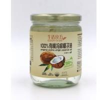 生活良方有機冷榨椰子油 500ml (產地: 菲律賓)