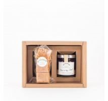 預購 Butteroom 手工果醬/一口酥禮盒 (1樽裝) -  玫瑰草莓果醬